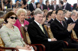 2010年5月19日 俞正声出席世博会德国馆活动