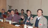 1993年7月1日 俞正声出席人大山东省代表团会议