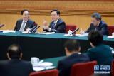 2013年3月8日 张德江参加广东代表团审议